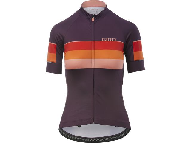 Giro Chrono Expert Kortærmet cykeltrøje Damer, dusty purple horizon